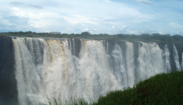 The Victoria Falls is just all kinds of impressive…